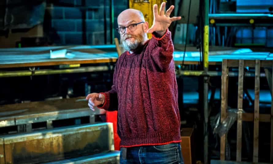 Red Ladder artistic director Rod Dixon