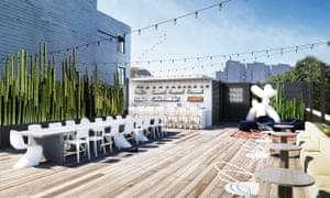 A rendering of Yass, a San Francisco co-working space and social club that plans to charge its members $150 a month.