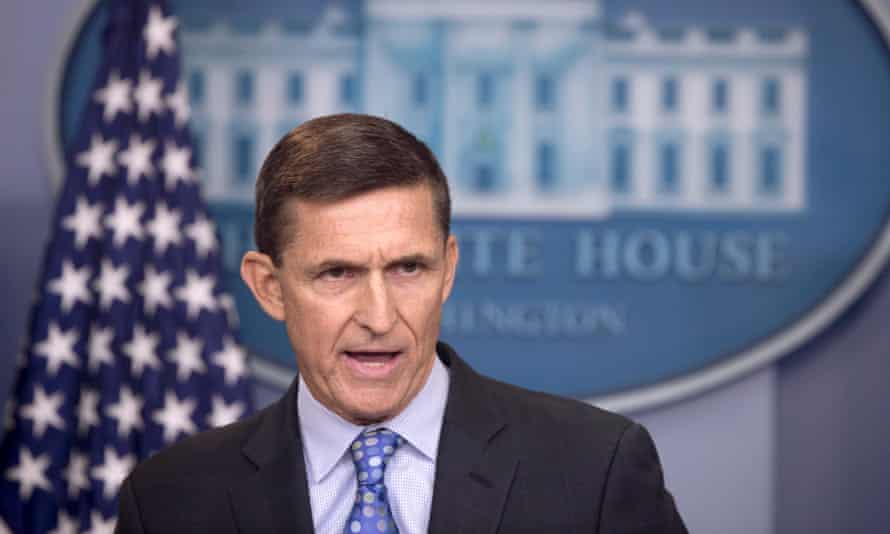 Flynn is accused of working for entities with ties to the Russian and Turkish governments and then not disclosing that work as he continued to work for Trump.