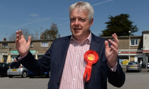 Carwyn Jones arrives to cast his vote in Bridgend at the assembly elections