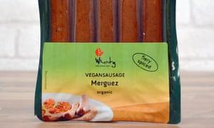 Wheaty vegan merguez sausages