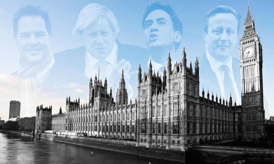 Polls suggest no party will get an overall majority on 7 May, but what kind of coalition will take power is far from clear. Photograph: Alamy