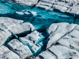 Meltwater, Greenland Ice Sheet 2016