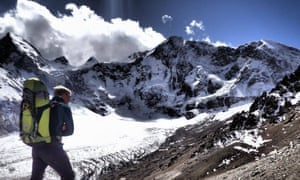British climber Harry McGhie tackles the mountains of Kyrgyzstan.