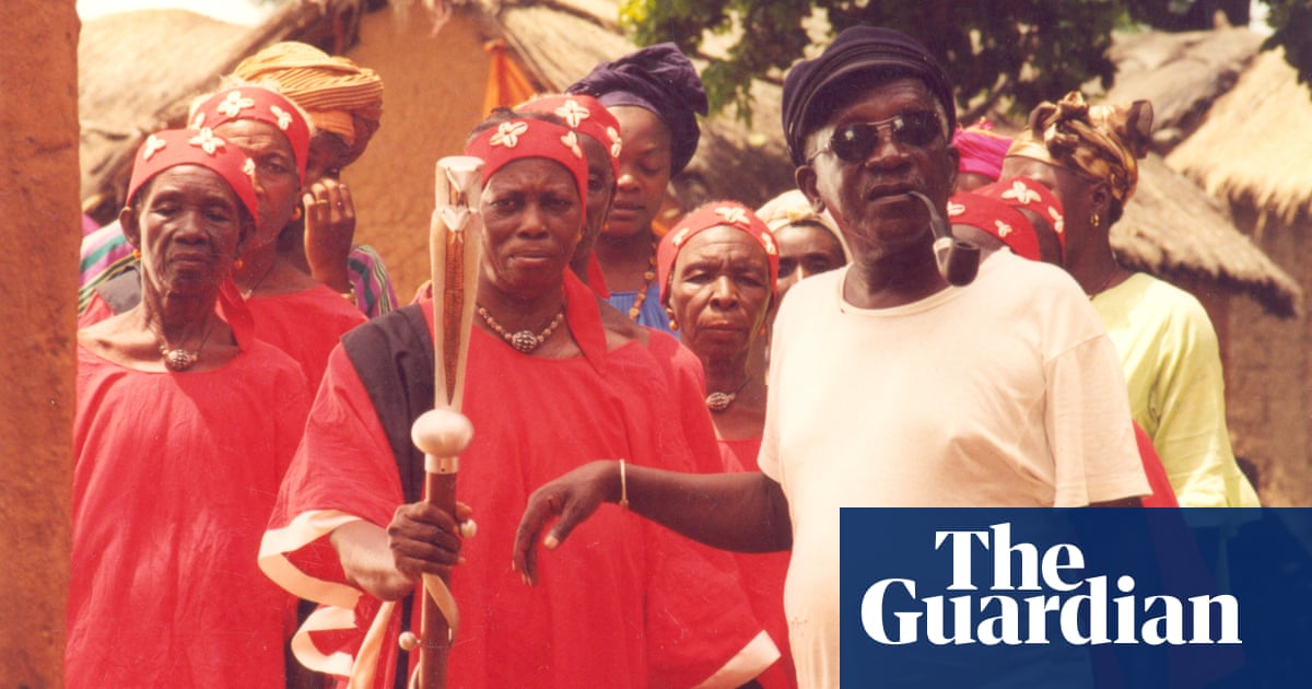 'Father of African cinema' Ousmane Sembène at work – in pictures