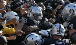 Raiders fans in Oakland were known for their fierce support of their team. Even if that did not help results on the field