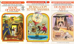 Choose Your Own Adventure books.
