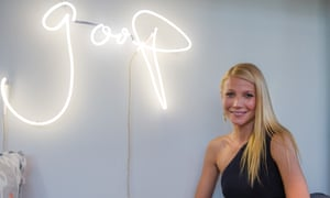 Gwyneth Paltrow at the Goop launch party