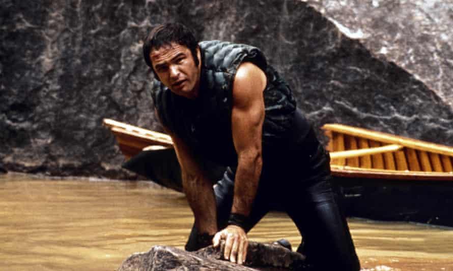 Rugged ... Burt Reynolds in Deliverance