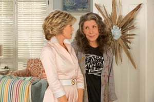 Season two of Grace and Frankie: 'there's a warmth to the show'