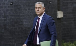 'The man for no seasons' Stephen Barclay arrives for a Cabinet meeting at 10 Downing Street.