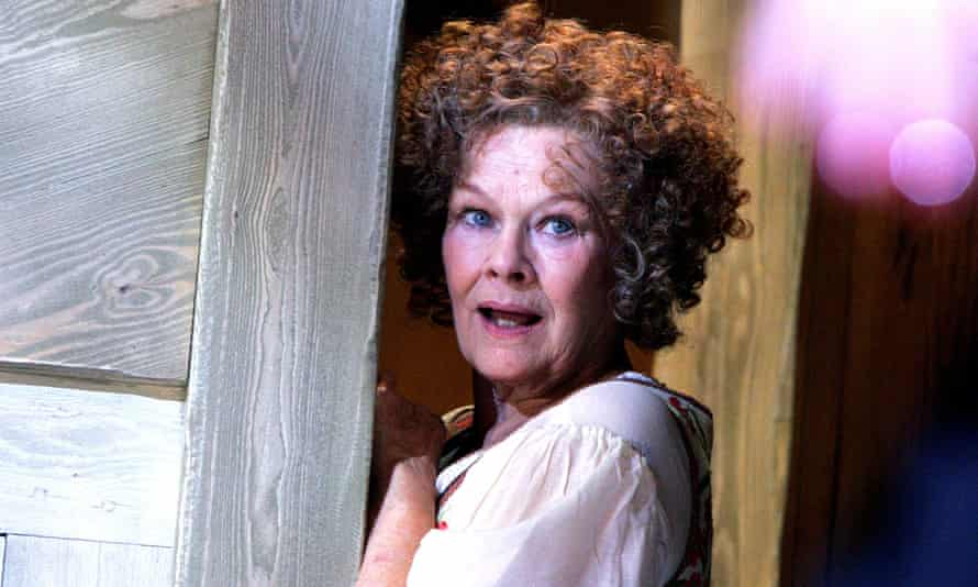 Judi Dench as Mistress Quickly in Merry Wives: The Musical by the RSC in 2006.