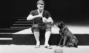 Patrick Stewart as Launce in The Two Gentlemen of Verona in 1970.
