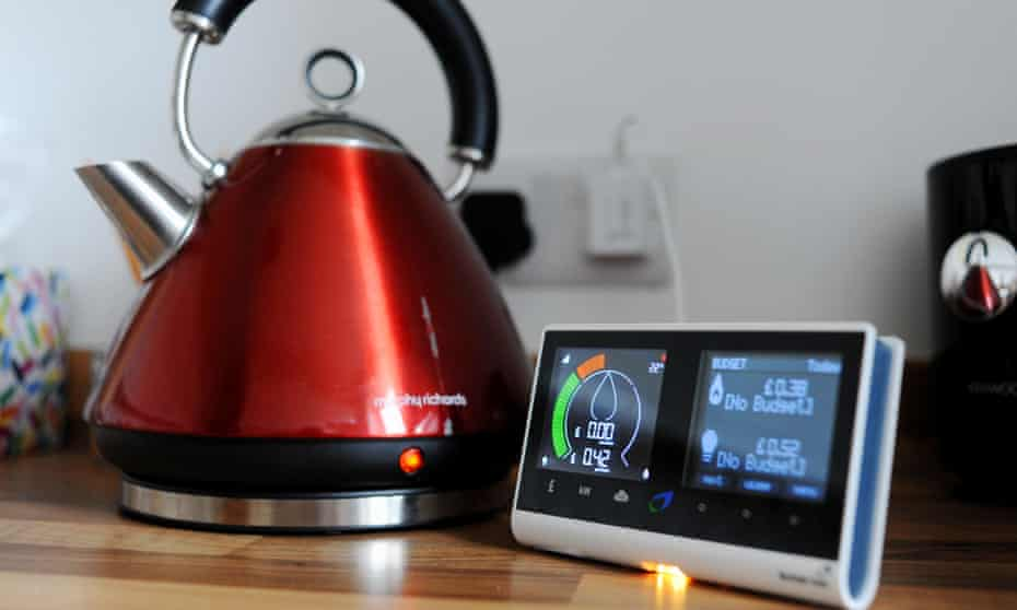 Smart thinking … just boiling a kettle correctly could shave £19 off your annual electricity bill.