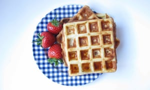 Felicity Cloake's perfect waffles.