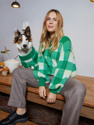 Kitri has partnered with photographer and content creator Jessie Bush to design a 20-piece capsule collection inspired by Jessie's laidback style, jumper, £135, kitristudio.com