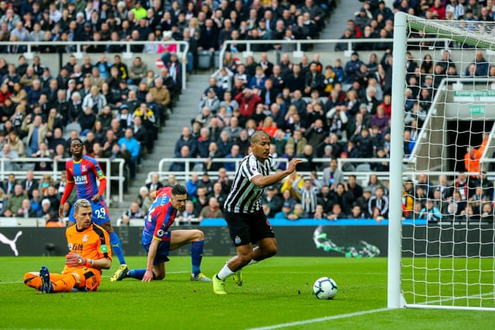1c9fc4f95a51 Crystal Palace s Luka Milivojevic leaves Newcastle looking over their  shoulders