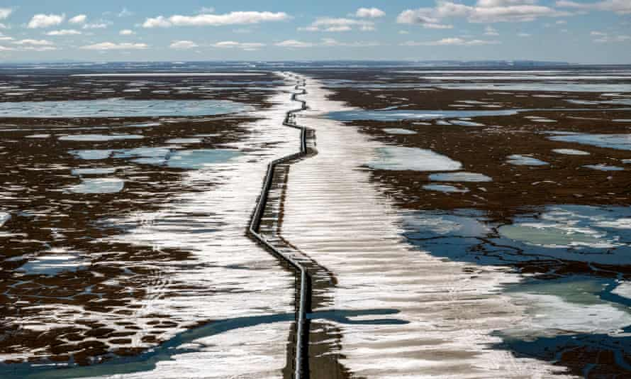 Alaska's north slope. Some Native Alaskan groups have also opposed the project over fears it will adversely impact the abundant local wildlife.