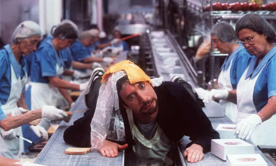 One of the most reviled films of all time … Green in Freddy Got Fingered.