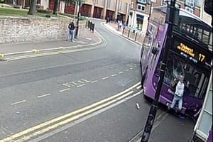 Reading, England An image taken from CCTV