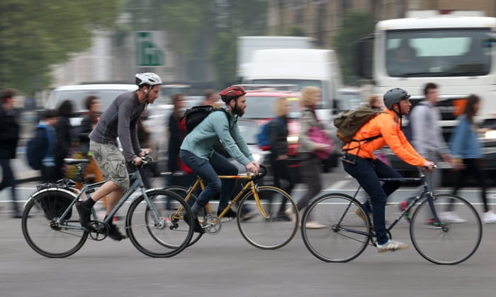 19bb5fa4427 Two-wheel takeover: bikes outnumber cars for the first time in Copenhagen |  Cities | The Guardian
