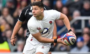 England's Ben Youngs looks to pass the ball during the Six Nations match between England and Ireland