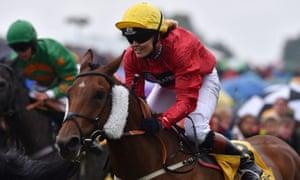 Victoria Pendleton pictured riding Thursday's Newmarket winner Royal Etiquette at Beverley last August.