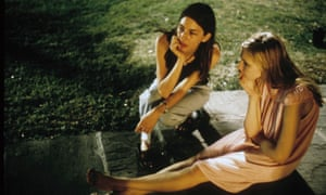 Virgin Suicides 1999. Sofia Coppola directing Kirsten Dunst during the making of the movie. COLLECTION CHRISTOPHEL