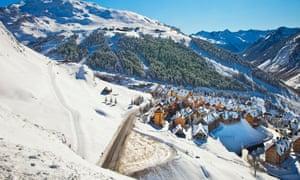 Baqueira Beret Ski resort Pyrenees