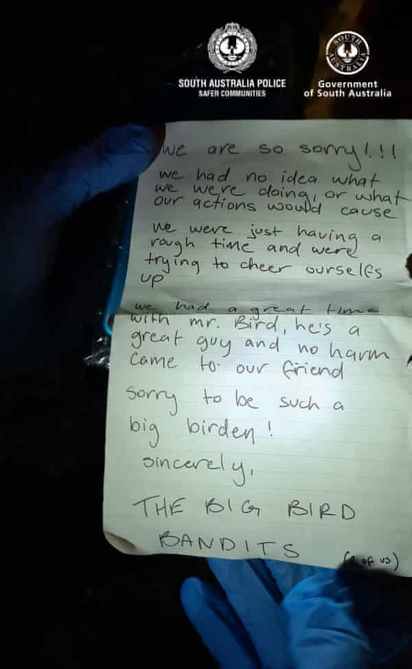 """值得注意的是被盗的""""大鸟""""套装。"""