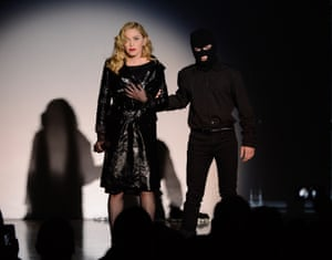 2013: Madonna and Rocco Ritchie perform during Madonna and Steven Klein secretprojectrevolution at the Gagosian Gallery