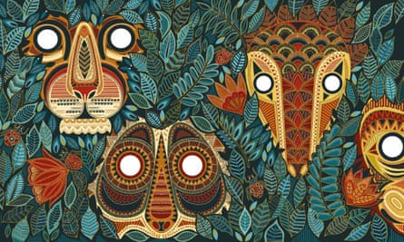 You're Safe With Me by Chitra Soundar has mesmerising illustrations by Poonam Mistry