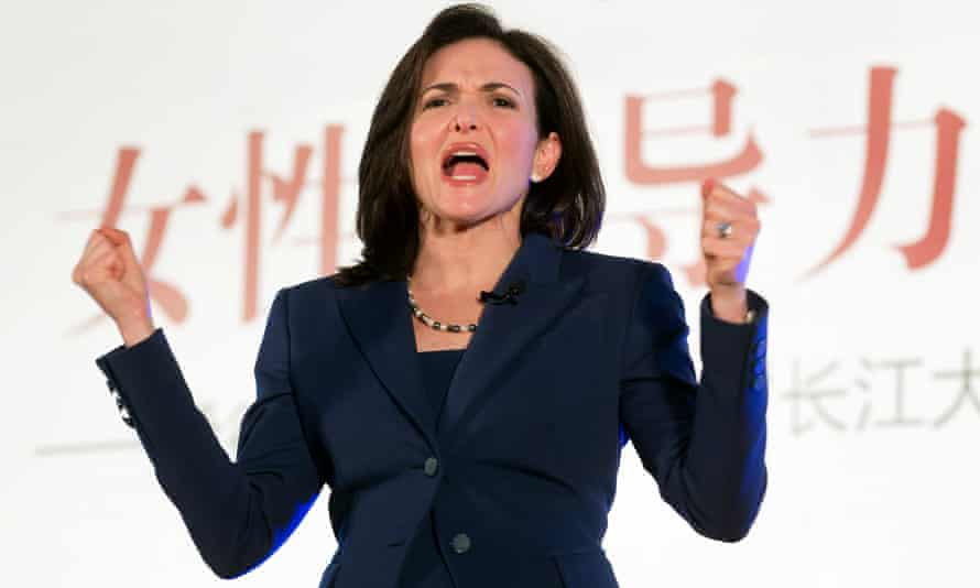 """In 2014, Sheryl Sandberg, Facebook's chief operating officer, called for a ban on the word """"bossy"""". Now a new report from her nonprofit LeanIn.org explores the impact of personality criticism on women's careers. AP Photo/Andy Wong)"""