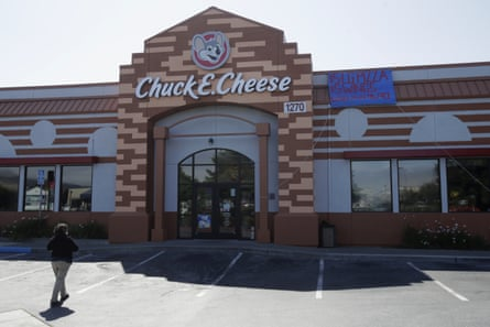 Chuck E Cheese, the 43-year-old pizza chain, filed for bankruptcy in June.