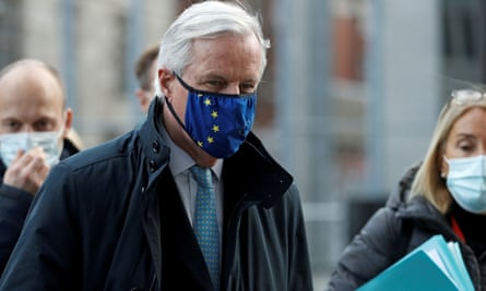 Michel Barnier said the teams would 'continue their work in full respect of guidelines'.