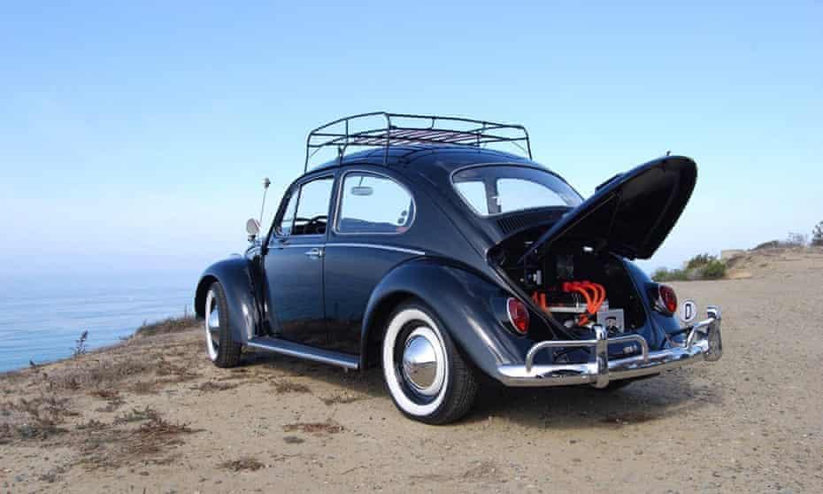 A 1966 VW Beetle