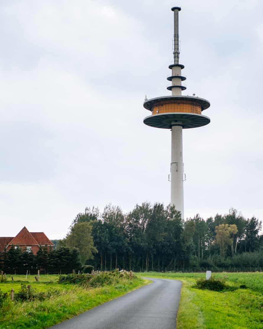 Telecom tower in Germany