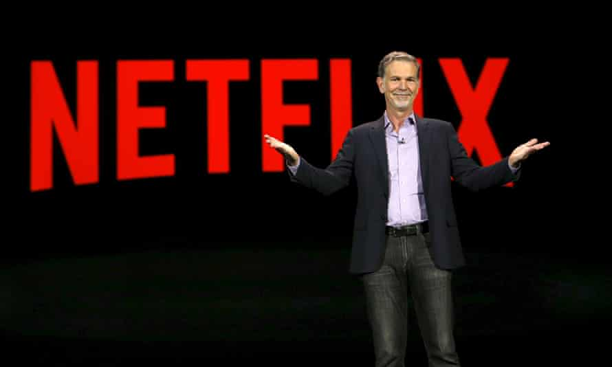 Reed Hastings, co-founder and CEO of Netflix, delivers a keynote address at CES about the expansion.