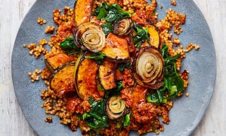 Yotam Ottolenghi's vegan recipes