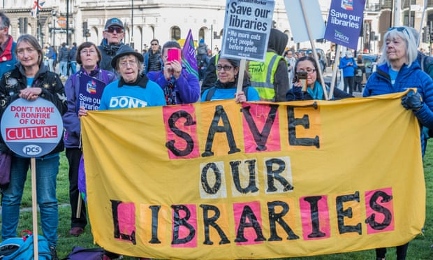 """""""Hugely Disappointing"""" Government Response To Libraries Petition by Alison Flood for The Guardian"""