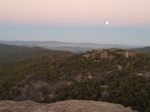 the Pyramid in Girraween national park