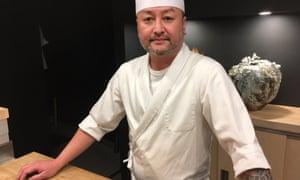 Takashi Miyazaki in his restaurant Ichigo Ichie in Cork.