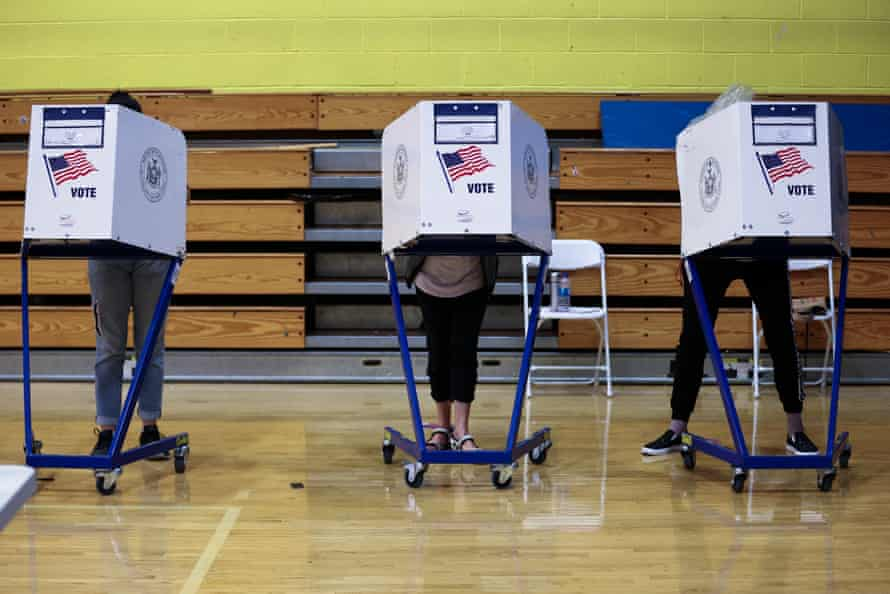 New York City's first major race to use a ranked-choice voting system has seen some hiccups.