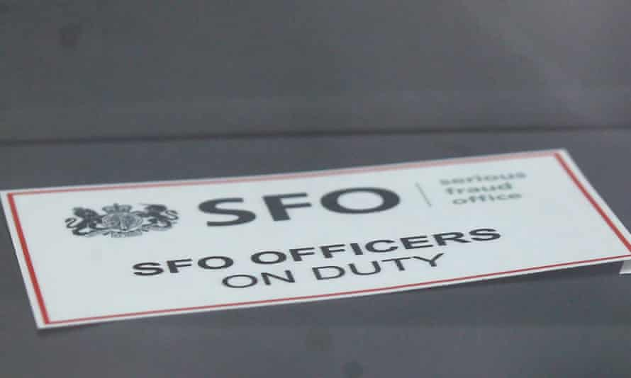 An SFO car badge