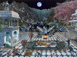 Ode to the Valley of Wonderment by Raqib Shaw.