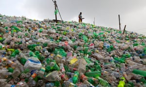 One million plastic bottles are bought around the world every minute, with most ending up in landfill or in the sea.