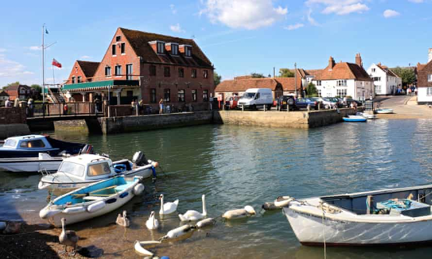 The historic village of Emsworth, on an inlet of Chichester harbour