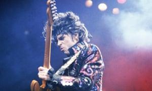 Prince ... not a Spotify fan.