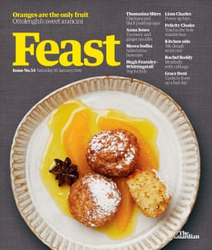 An issue of Feast magazine from January this year.