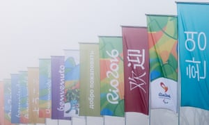 It appears that Russia isn't welcome at the Paralympic Games.
